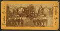 The Garfield Obsequies at Cleveland, artillery men advancing for the corpse, from Robert N. Dennis collection of stereoscopic views.png
