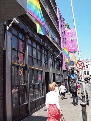 The George, Dublin - Image: The George, Dublin close