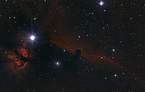 Horsehead Nebula - Image: The Horsehead Nebula IC434