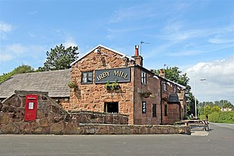 Irby, Merseyside - Image: The Irby Mill Pub, Hillbark Road, Irby (geograph 2990476)