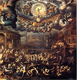 Catherine de' Medici's patronage of the arts - The Last Judgement. by Jean Cousin the Younger.
