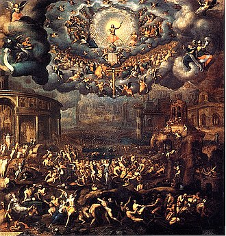 Messiah - The Last Judgment, by Jean Cousin the Younger (c. late 16th century)