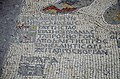 The Madaba Map, part of a floor mosaic in the early Byzantine church of Saint George depicting the Holy Land in the 6th century AD, Madaba, Jordan (33765254184).jpg