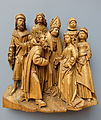 The Marriage of the Virgin, Northern Netherlands, c. 1490-1500, oak - Bode-Museum - DSC03187.JPG
