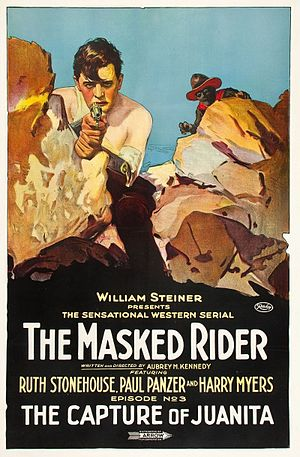 The Masked Rider (film) - Film poster