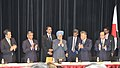 The Prime Minister, Dr. Manmohan Singh at the meeting of Japan-India parliamentary Friendship League and Japan-India Association at the Indian Embassy Building in Tokyo, Japan on October 25, 2010.jpg