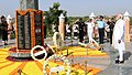 The Prime Minister, Shri Narendra Modi paying homage to martyrs at the Konark War Memorial, in Jodhpur, Rajasthan on September 28, 2018 (1).JPG