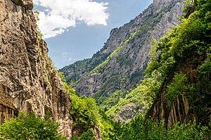 Rugova Canyon - The Rugova Canyon.