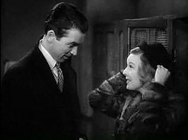 James Stewart en Margaret Sullavan in The Shop Around the Corner