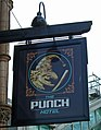 The Sign of The Punch Hotel - geograph.org.uk - 833881.jpg