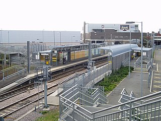 Stadium of Light Metro station Station of the Tyne and Wear Metro