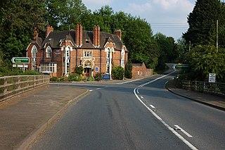 Newnham Bridge Human settlement in England