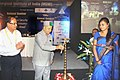 The Union Steel Minister, Shri Virbhadra Singh lighting the lamp to inaugurate the National Seminar on 'Raw Material Security for the Steel Industry- Challenges Ahead', in Kolkata on September 18, 2010.jpg