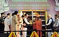 The Vice President, Shri M. Venkaiah Naidu releasing 108 books Published by Bharatiya Jnanpith, at the 88th Mahamasthakabhisheka Mahotsava to Bahubali Gommateshwara, at Shravanabelagola, in Karnataka.jpg