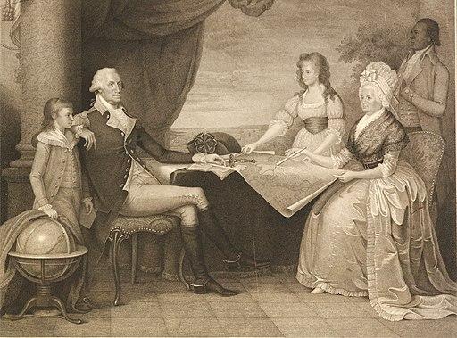 """The Washington Family"" by Edward Savage"