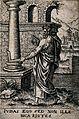 The apostle St. Judas Taddeus. Engraving. Wellcome V0048149.jpg
