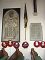 The church of SS Mary and Margaret, Sprowston - war memorials - geograph.org.uk - 2054567.jpg