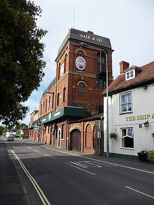English: The former Gales Brewery Betrayed by ...