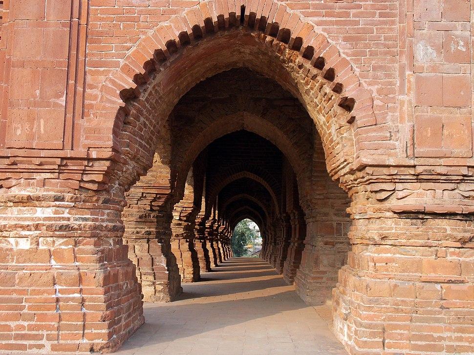 The gate Of %27Rashmancha%27, Bishnupur