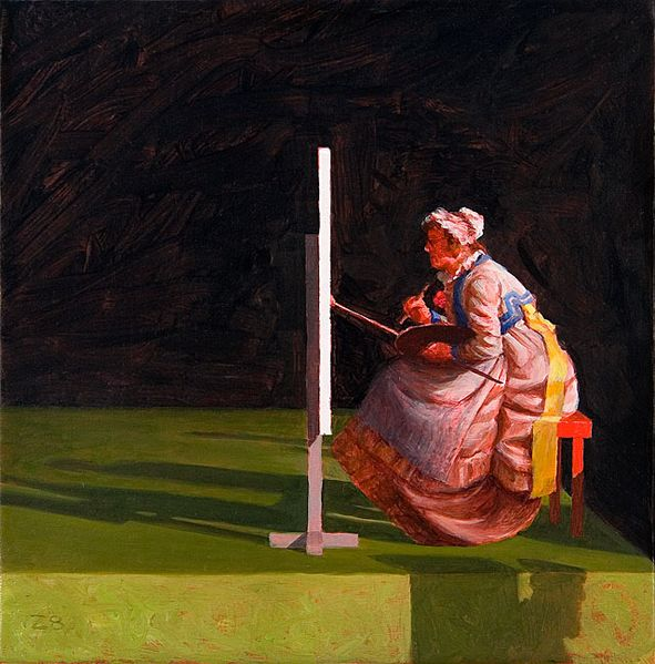 File:The master, painting by Kristoffer Zetterstrand.jpg