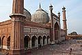 The old mosque jama masjid in delhi.jpg