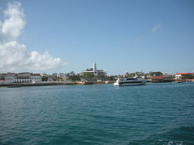 The waterfront of Zanzibar city.JPG