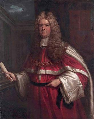 Thomas Powys (judge) - Thomas Powys (1649-1719) (Follower of Godfrey Kneller)