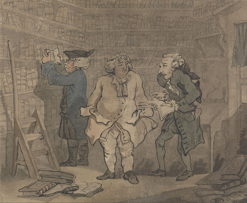 Thomas Rowlandson - Bookseller and Author - Google Art Project.jpg