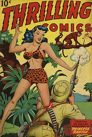 Jungle girl (stock character) - Princess Pantha is an example of a Jungle Girl.