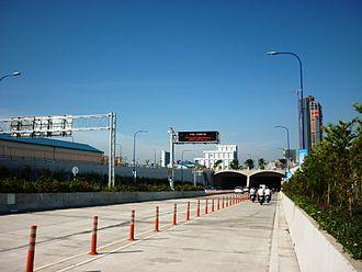 District 2, Ho Chi Minh City - Thu Thiem Tunnel