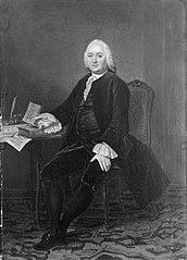 Portrait of Jan Wagenaar (1709-1776)  (copy)