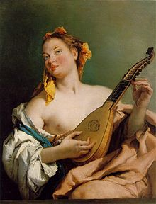 Tiepolo Gimbattista, Woman with a Mandolin, c. 1755-60.jpg