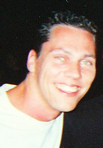 Tiësto - Tiësto in Sant Antoni, Ibiza, prior to performing at Amnesia, July 2000