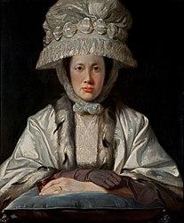 Tilly Kettle: Portrait of Anne Howard-Vyse