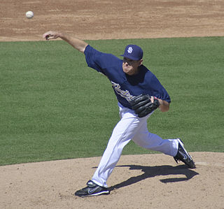 Tim Stauffer American baseball player
