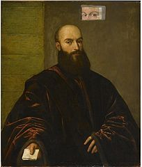 Portrait of a Venetian Gentleman (overpainted)