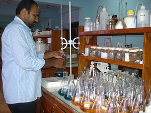 Titration - Analysis of soil samples by titration
