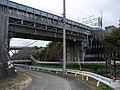 Tokaido Shinkansen Shiraitogawa bridge.jpg
