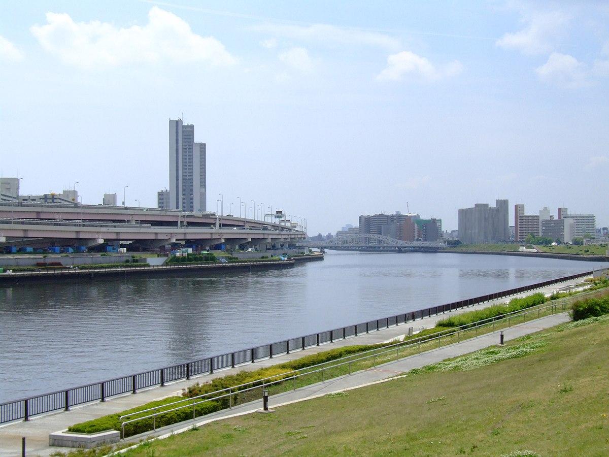 Px Tokyo Sumida River From Suijin Bridge