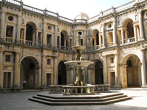 Renaissance cloisters of Christ Convent, Tomar