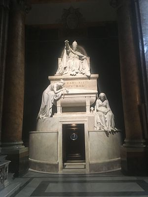 Pope Clement XIV - Tomb of Pope Clement XIV at Santi Apostoli Roma