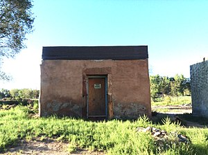 Tome, New Mexico - Historic Tome Jail on the plaza