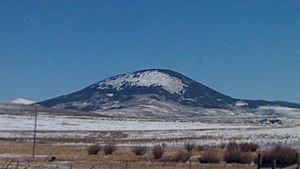 Tomichi Dome - Tomichi Dome viewed from U.S. Route 50