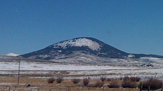Tomichi Dome mountain in Colorado, United States of America