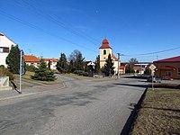 Top part of Vícenice u Náměště nad Oslavou, Třebíč District.JPG