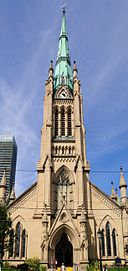 Toronto - ON - St.-James-Kathedrale (frontal)