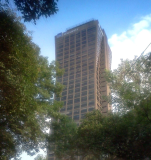 the former worldwide headquarters of Mexicana de Aviación