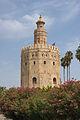 Torre del oro laurels Seville Andalusia Spain.jpg