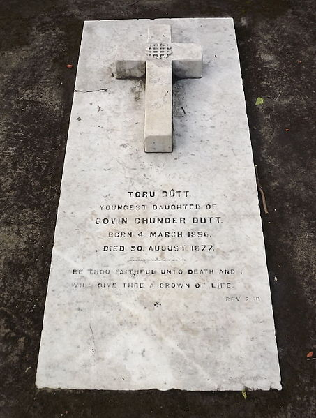 toru dutt keats of the indo english Keats's own name is deliberately missing on his gravestone, and poems about the grave speak not only about the unjustly neglected poet, but also about the cultural capital of poetry, as if the grave is a marker for poetry itself.