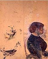 Toulouse-Lautrec - ARTILLEUR ET FEMME, 1886, MTL.117.jpg